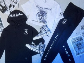 Suicidal Tendencies team up with Converse footwear and apparel