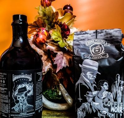 Brimming Horn Meadery, The Atlas Moth, and Dark Matter Coffee team-up