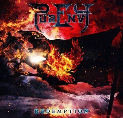 "Purenvy ""Redemption"" album cover"