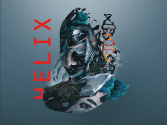 """Crystal Lake album cover for new album, """"Helix"""""""