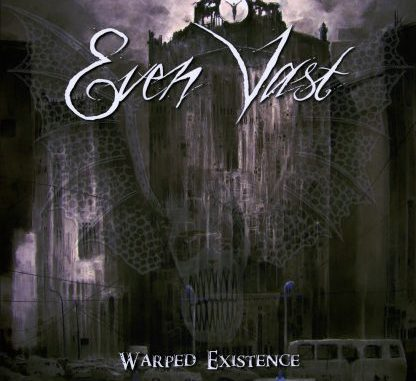 Evan Vast album cover for Warped Existence