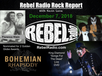 Rebel Rock Report for December 7, 2018