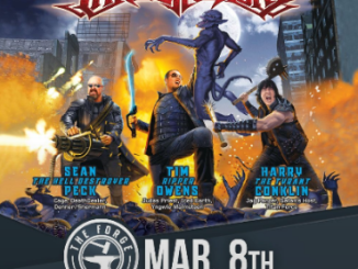 The Three Tremors at The Forge Friday, March 8, 2019