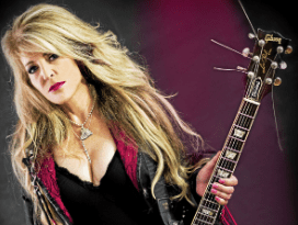 Janet Gardner of Vixen at Route 20 on january 18, 2019