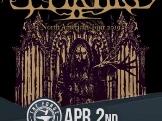 Mortiis at the Forge on Tuesday, April 2, 2019
