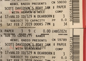 Tickets for Scott Davidson's Birthday Bash 2019 at the HOB (Chicago), Sunday, February 3, 2019