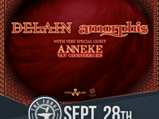 Delain, with Amorphis at The Forge on September 28, 2019