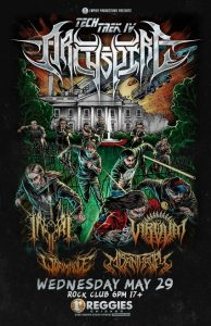 Archspire @ Reggies on Wednesday, May 29, 2019