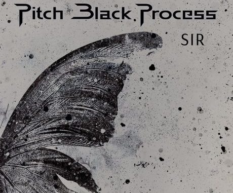 "pitch black process - album cover for ""Sir"""