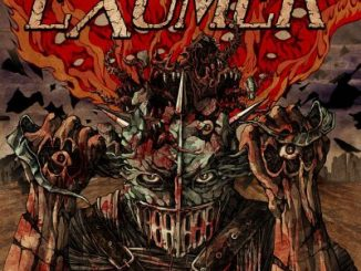 Exumer album cover for Hostile Defiance