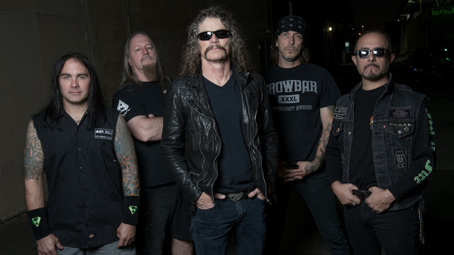 Overkill at the House of Blues Chicago with Death Angel on Thursday, May 2, 2019