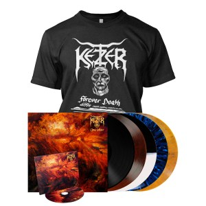 Ketzer T-shirt, CDs and albums
