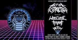 Act of Destruction at Cobra Lounge Friday, May 31, 2019