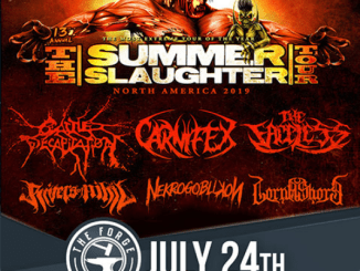 Summer Slaughter 2019 at the Forge on Wednesday, July 24, 2019
