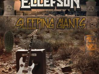 Dave Ellefson Sleeping Giants album cover