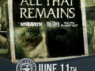 All The Remains at the Forge, Tuesday, June 11, 2019