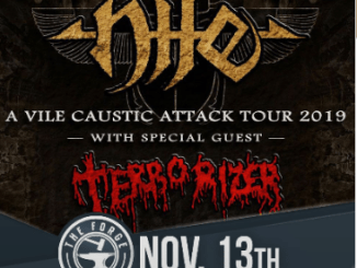 Nile show at The Forge on November 13, 2019