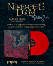 Novembers Doom Nephilim Grove on red Vinyl