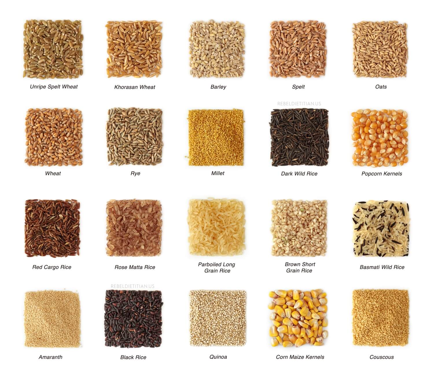 Get To Know Whole Grains