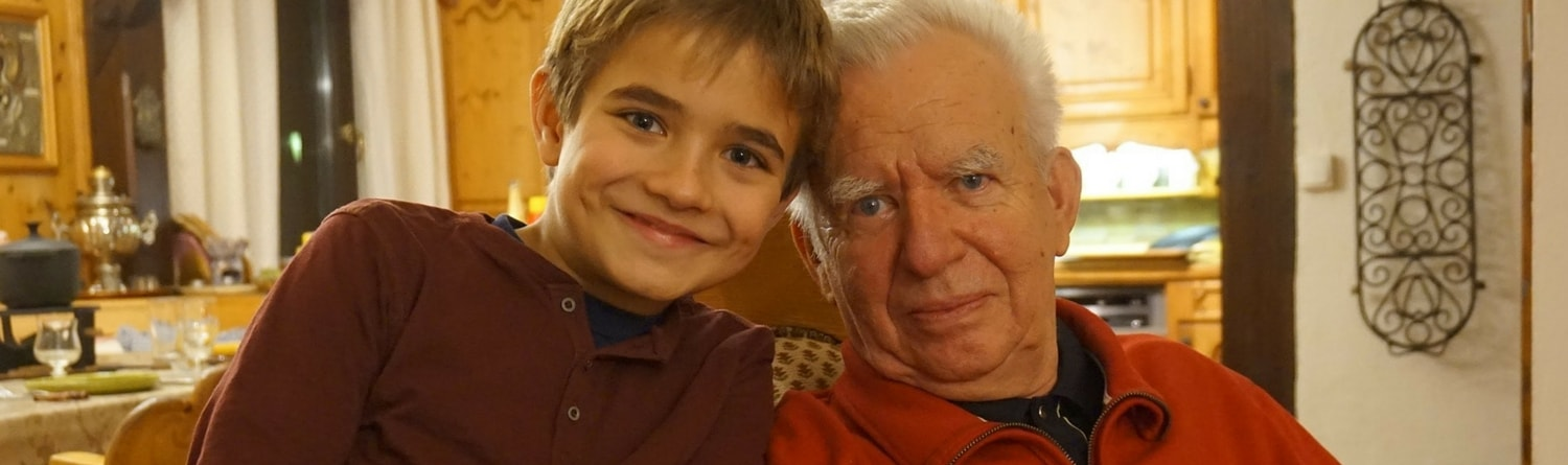 Rebel Retirement - Grandson and Grandpa