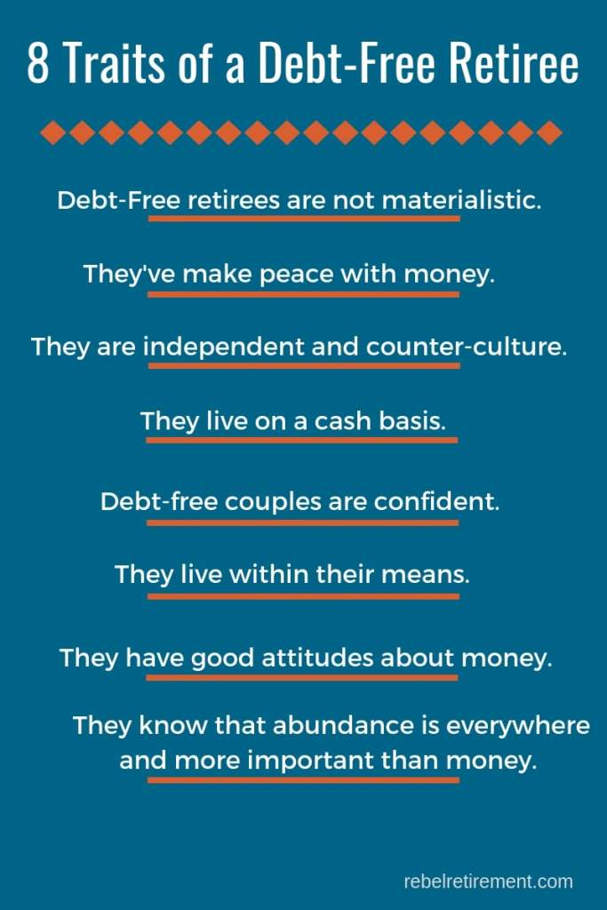Debt-Free Graphic- Rebel Retirement