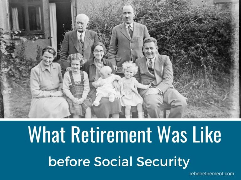 What Retirement Was Like Before Social Security