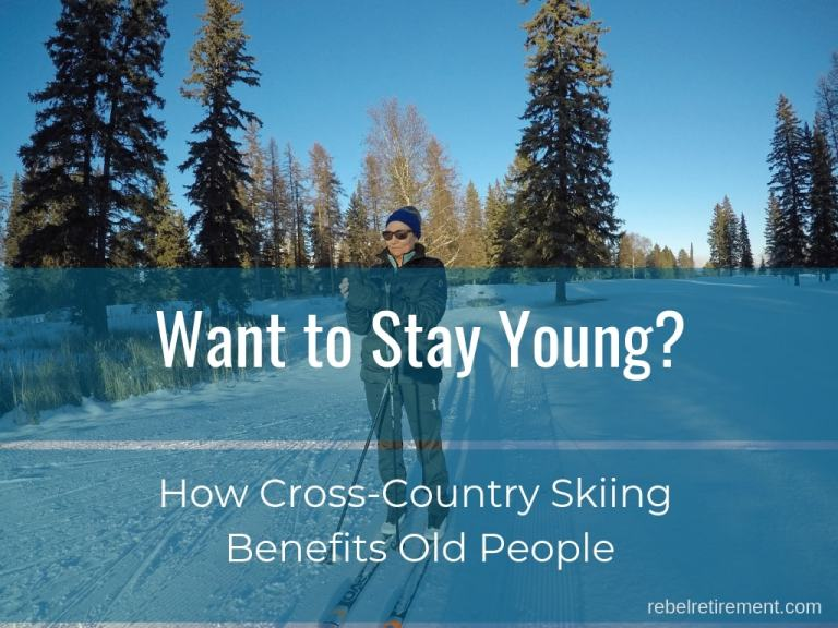 The Secret to a Long Life [The Benefits of Cross Country Skiing]