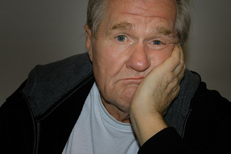 Bored Baby Boomer Man - Rebel Retirement