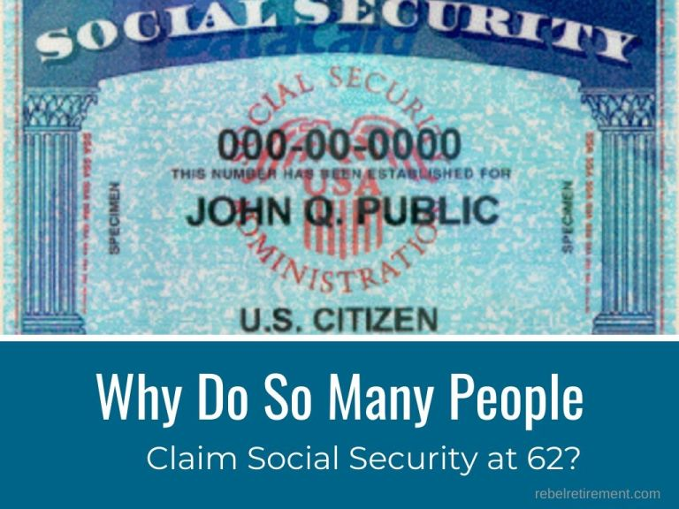 Why Do So Many People Claim Social Security at 62?