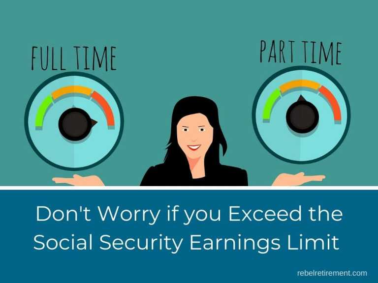 Exceeded Social Security Earnings Limit: Don't Worry