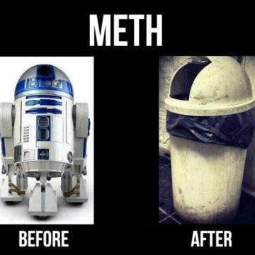 Star Wars R2-D2 Meth