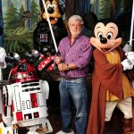 George Lucas shoots on The Force Awakens and Disney
