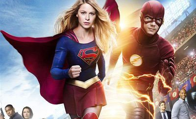 Supergirl/Flash crossover poster released