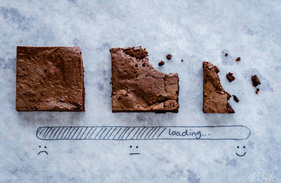 Chewy, Fudgy Brownies