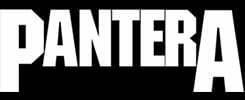 pantera logo official band merch