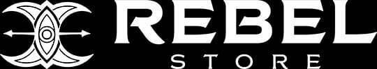 Rebel store footer logo