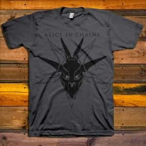 Alice In Chains Black Skull
