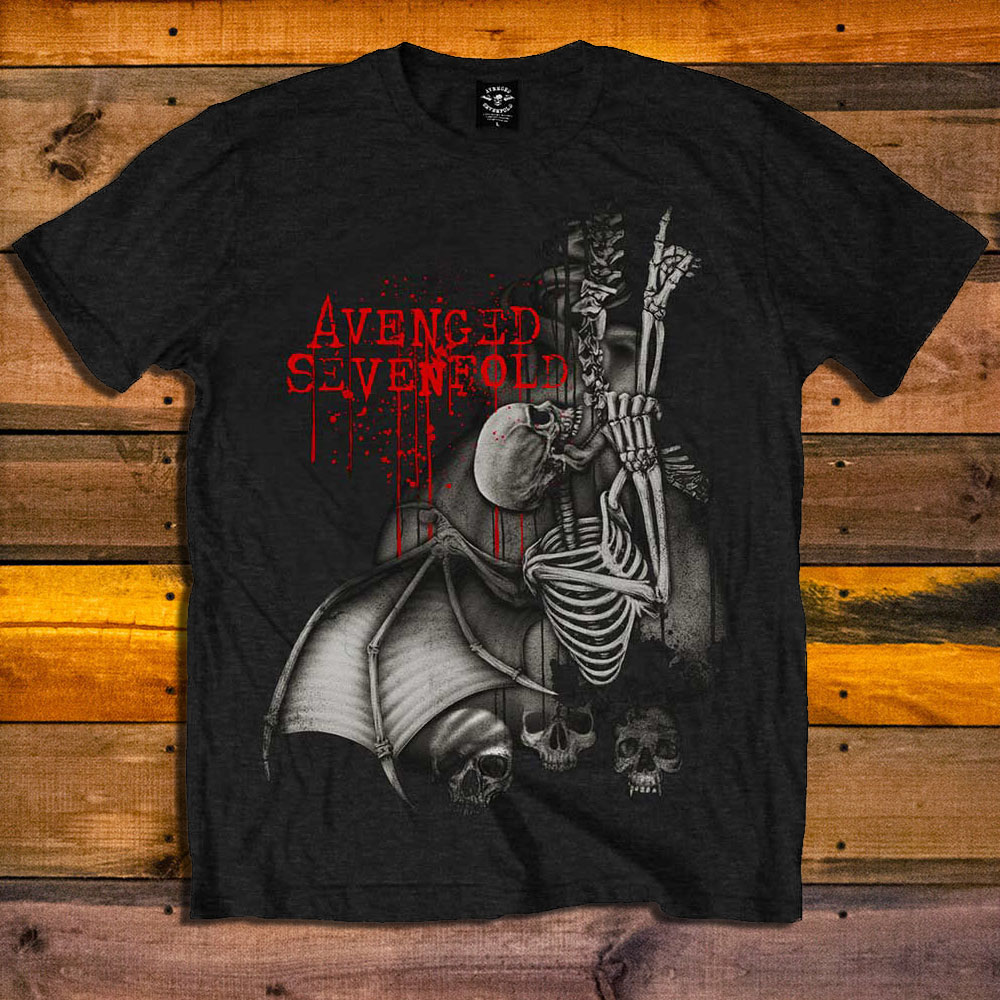 Тениска Avenged Sevenfold Spine Climber