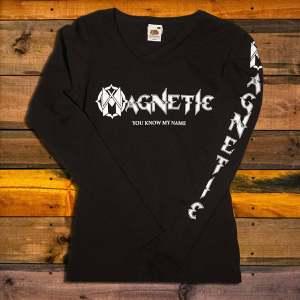 Дамска Тениска с дълъг ръкав Magnetic