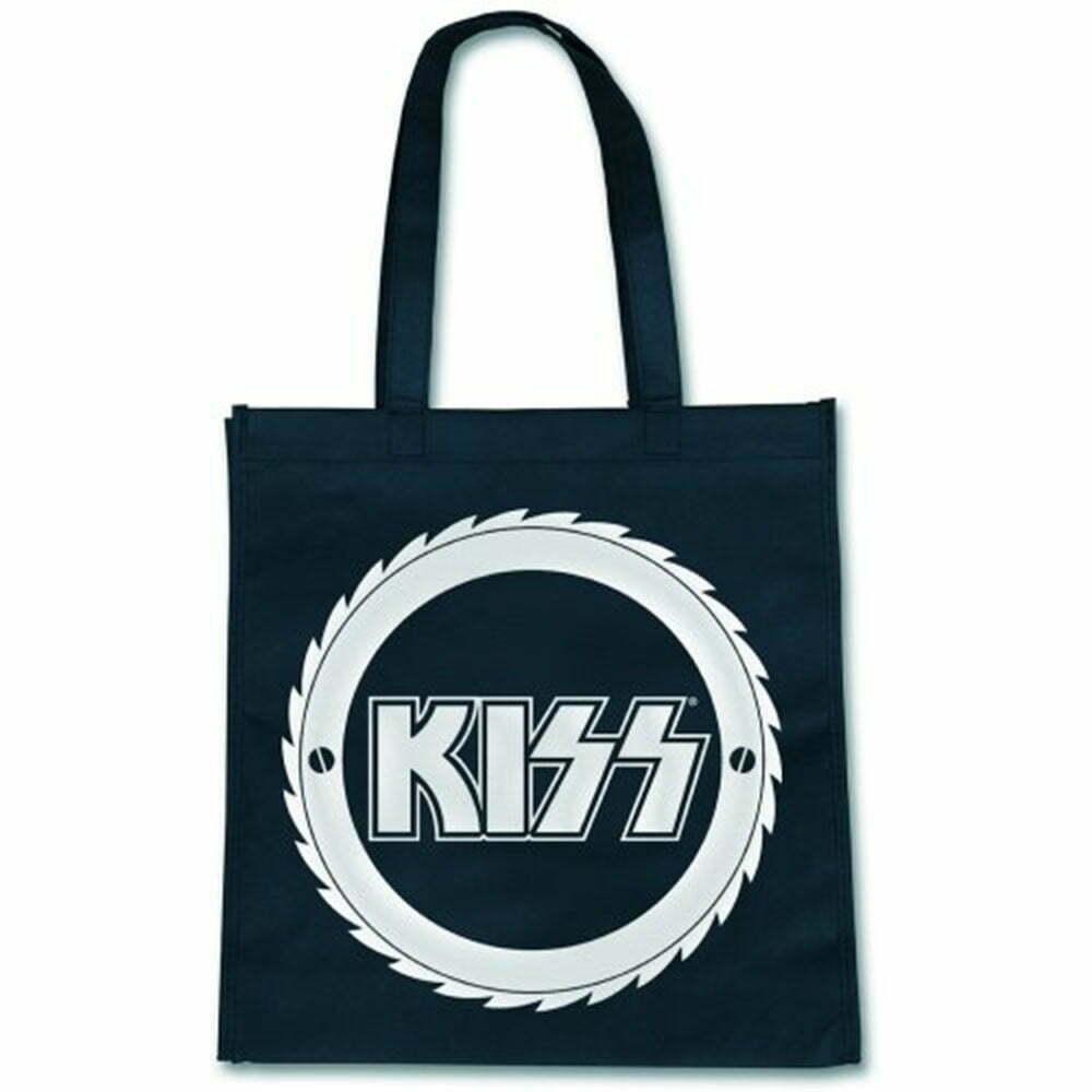 Еко чанта KISS Buzzsaw Logo
