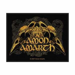 Нашивка Amon Amarth Raven Skull