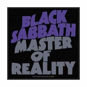 Нашивка Black Sabbath Master Of Reality