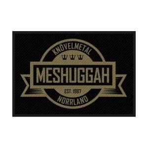 Нашивка Meshuggah Crest Logo