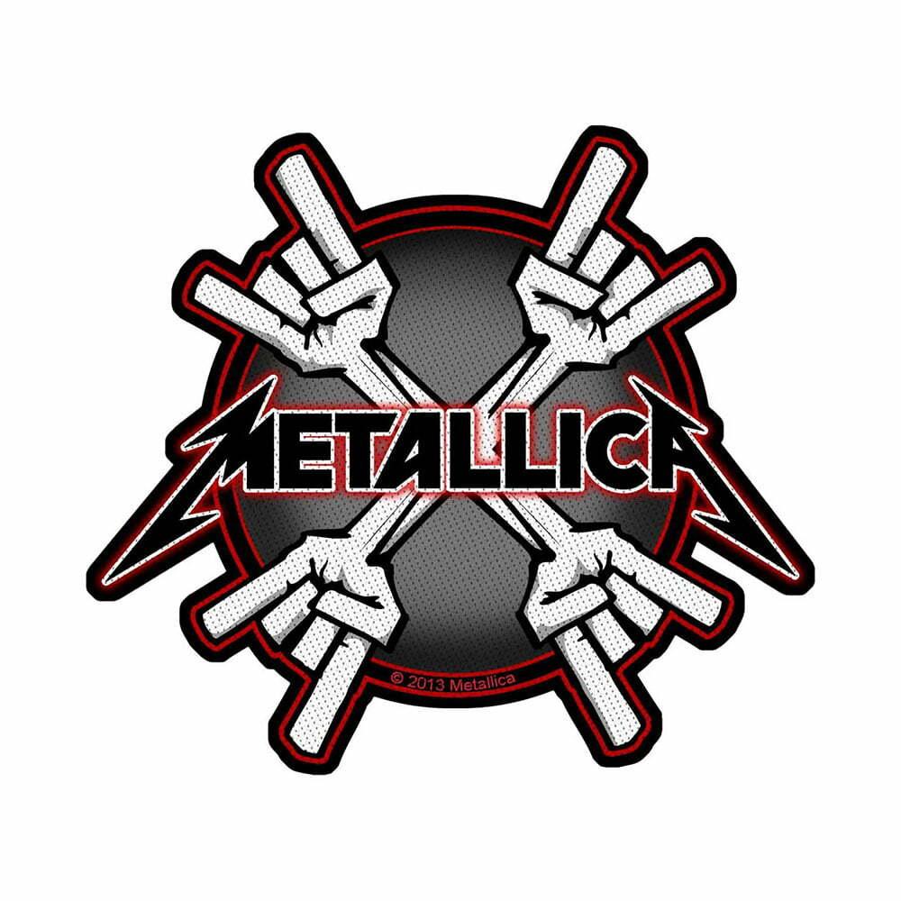 Нашивка Metallica Metal Horns
