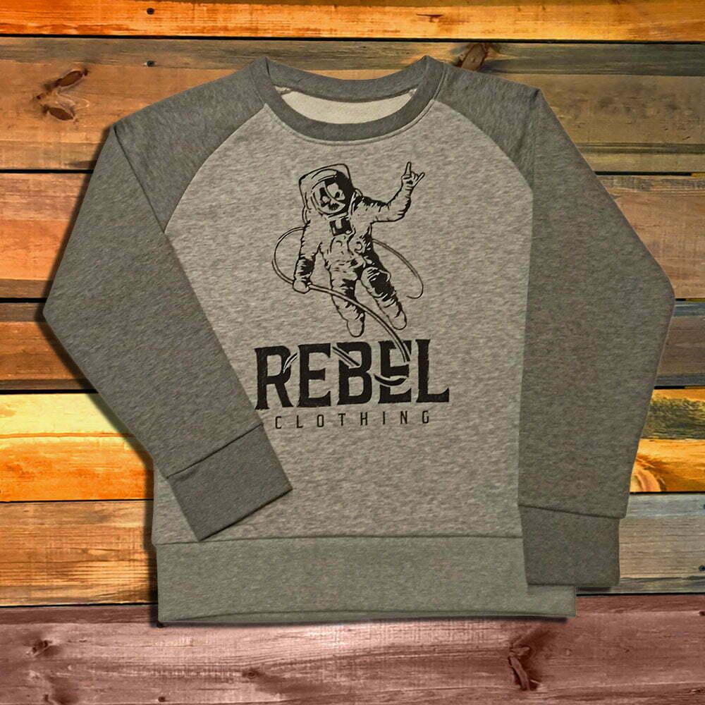 Детскa блуза с дълъг ръкав Rebel Clothing