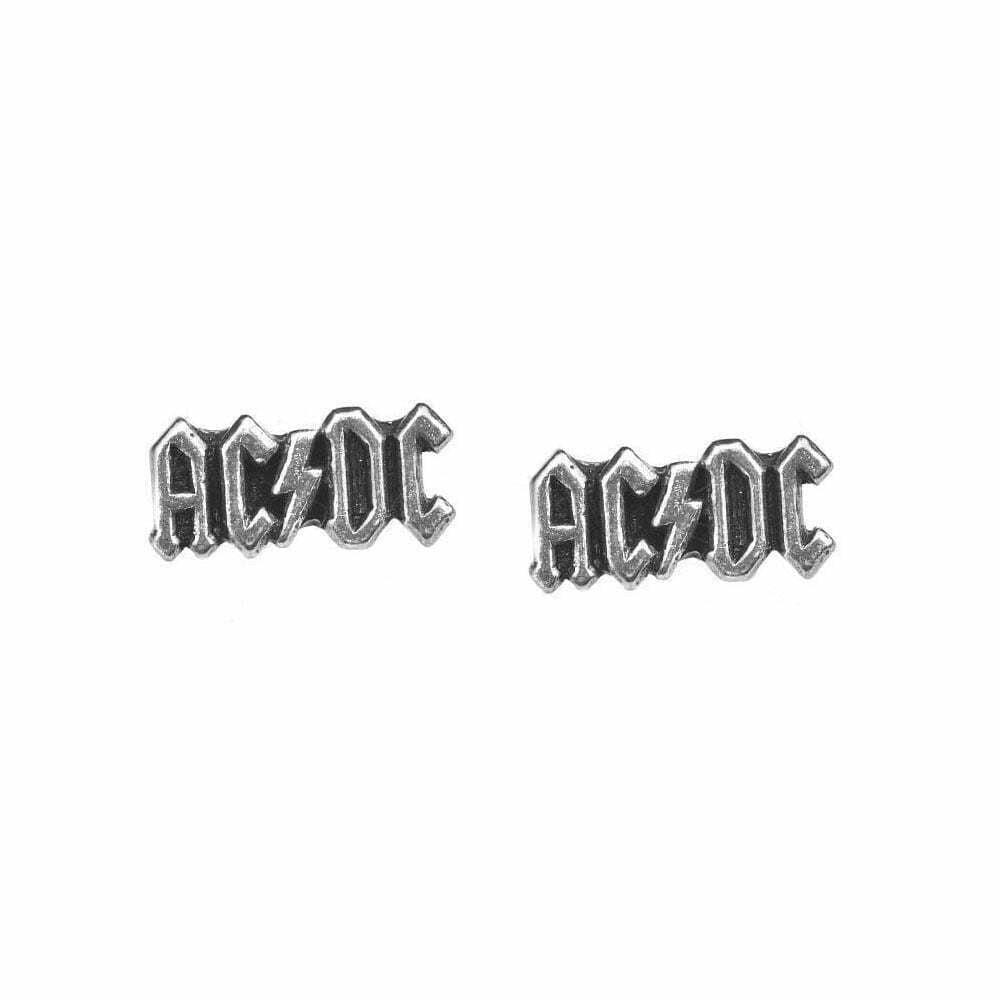 Обеци AC/DC Logo