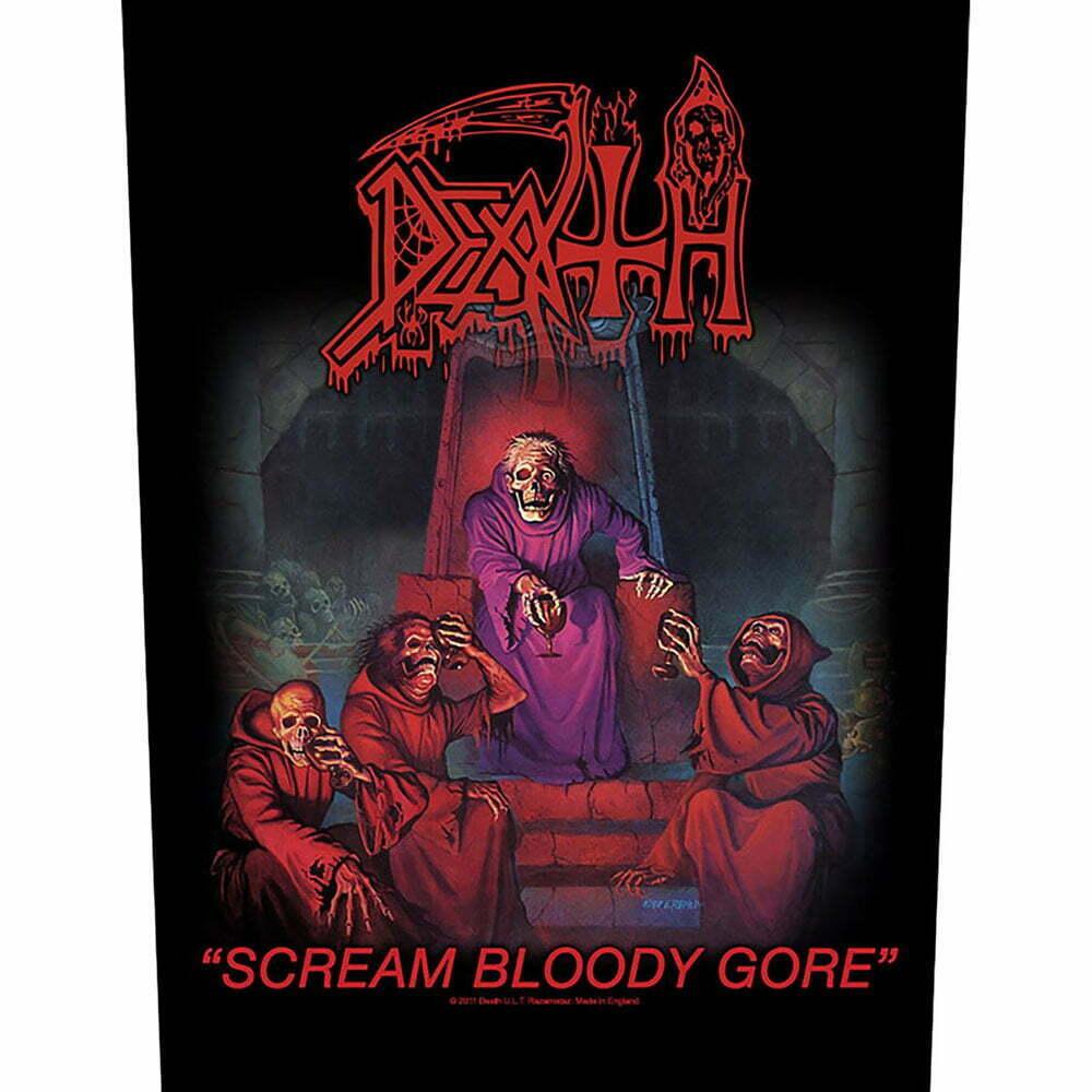 Гръб Death Scream Bloody Gore