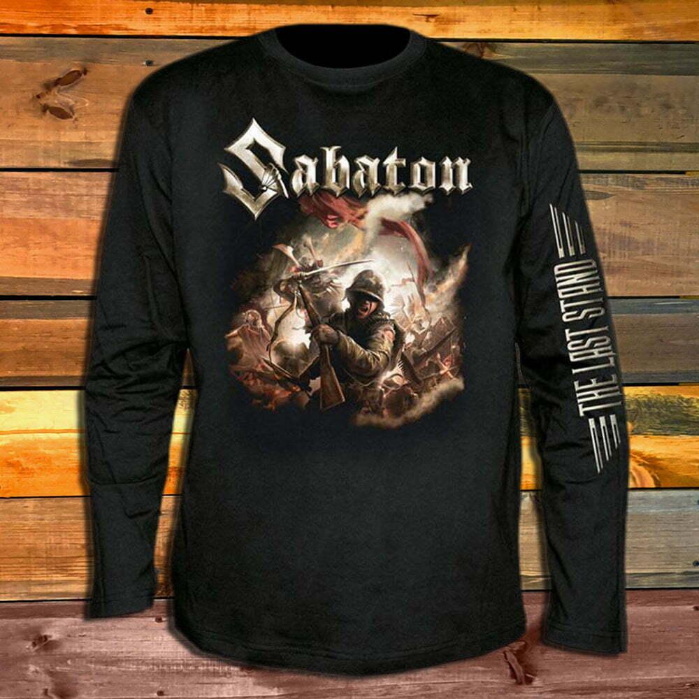 Тениска с дълъг ръкав Sabaton The Last Stand