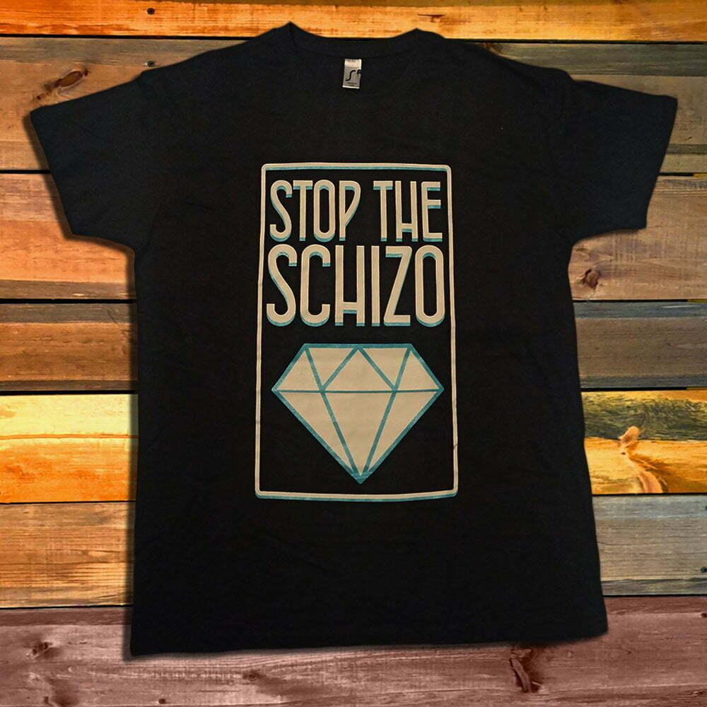 Тениска Stop The Schizo Logo