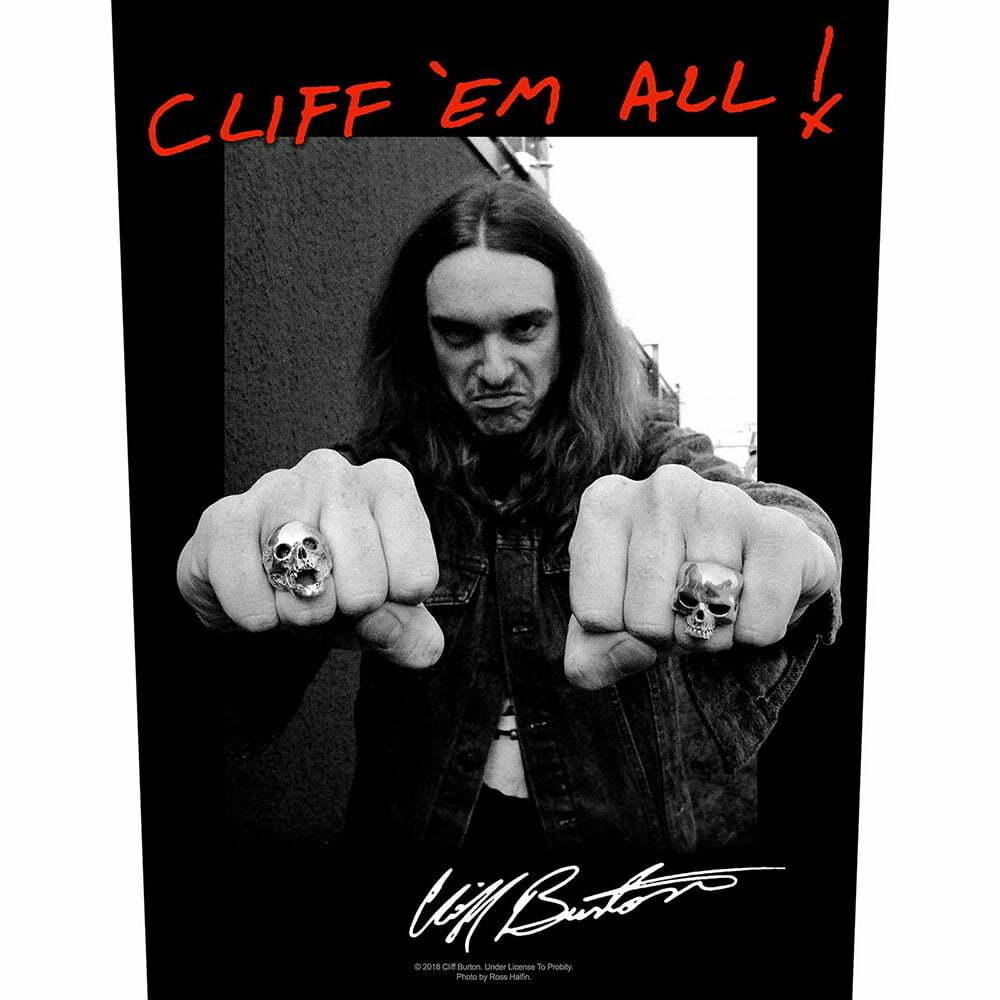 Гръб Metallica Cliff 'Em All